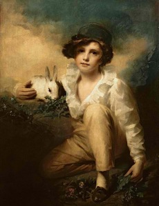 boy-and-rabbit-sir-henry-raeburn
